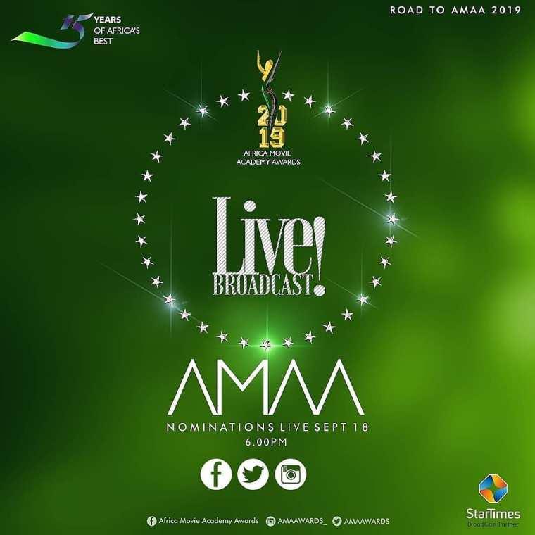 AMAA 2019 NOMINEE LIST