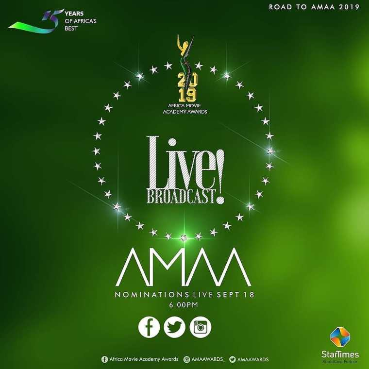 AMAA 2019 NOMINEE LIST