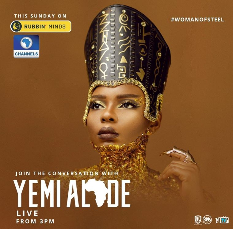 Yemi Alade rubbin minds with omojuwa