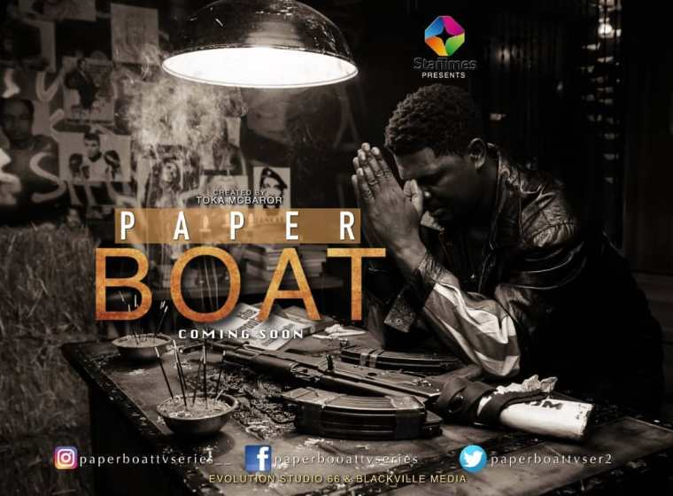 Watch teaser for Toka Mcbaror's action crime series Paper Boat