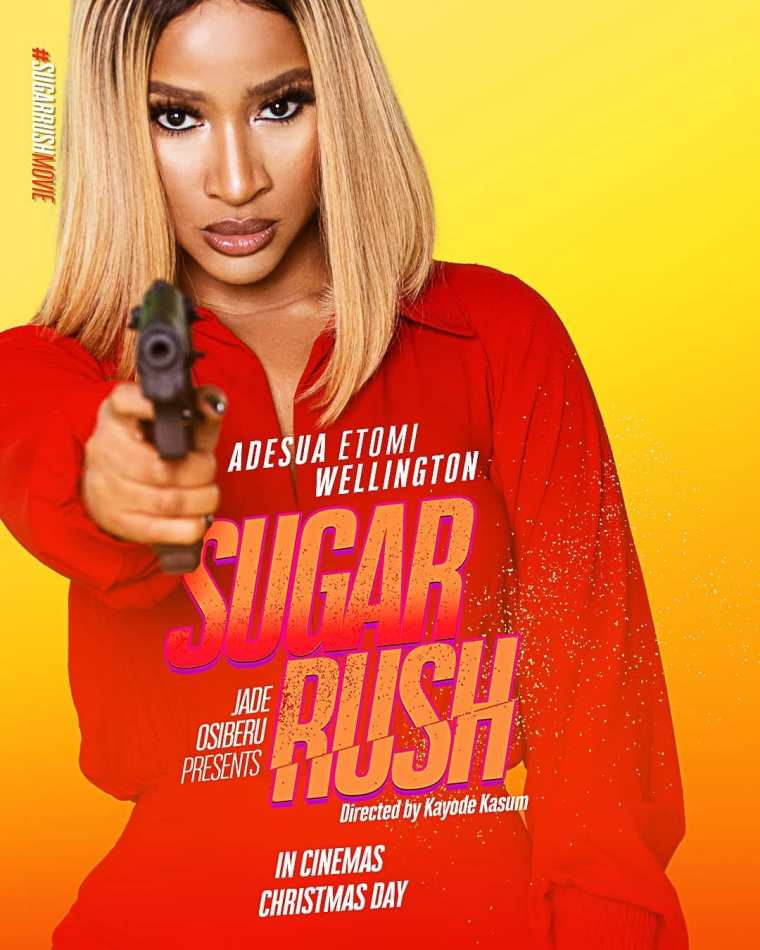 Kayode Kasum trailer for Sugar Rush starring Adesua Etomi produced by Jade Osiberu