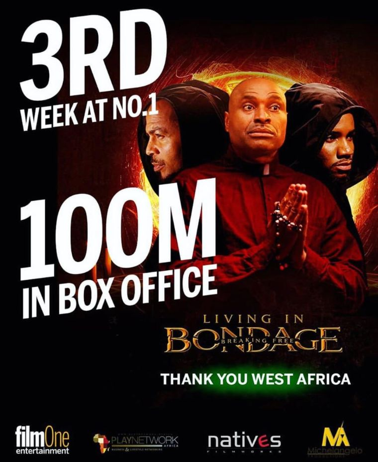 Living In Bondage Breaking Free now Tenth Highest-Grossing Nigerian Film in History