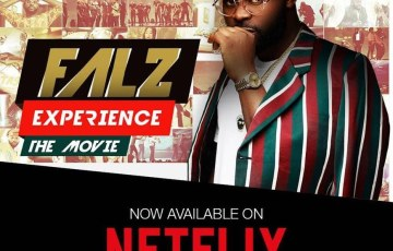 The film Falz Experience The Movie is now streaming on Netflix