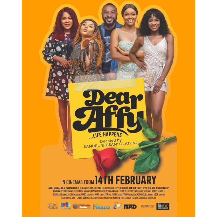 'Dear Affy' Trailer: Teni makes Nollywood debut in Star-studded rom-com