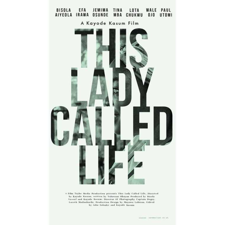 First Look of Bisola Aiyeola in Kayode Kasum's 'This Lady Called Life'