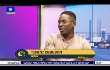 Timini Egbuson talks AMVCA nomination and being Dakore's Sister on 'Rubbin Minds'