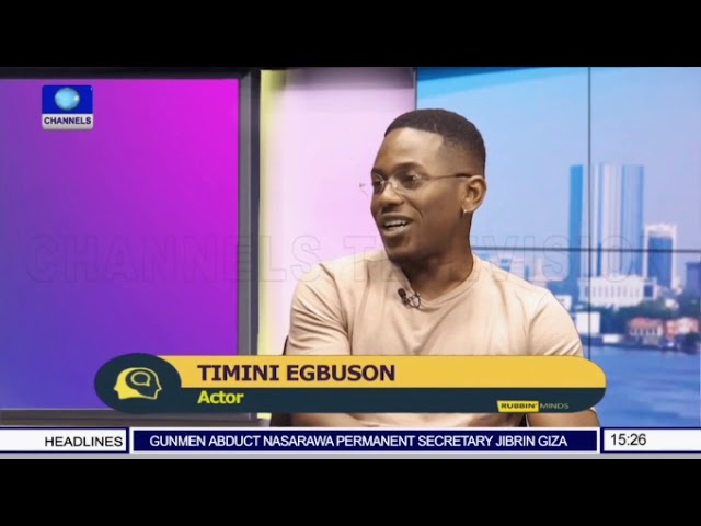 Timini Egbuson talks AMVCA nomination and being Dakore's Sister on 'Rubbin Minds'