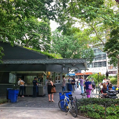 Madison Square Park Shake Shack