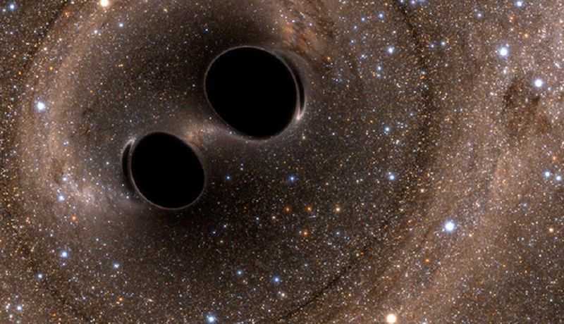 Black Hole Simulation LIGO