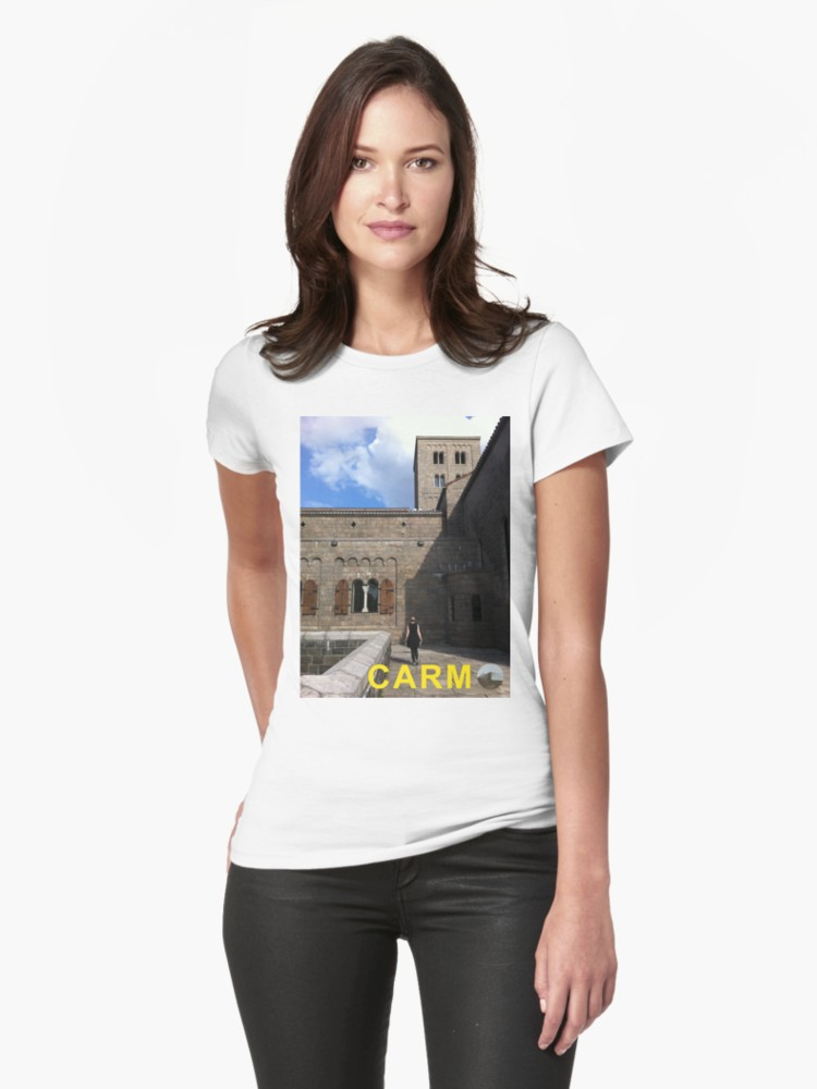 Culturedarm CARM Cloisters White Fitted T-Shirt