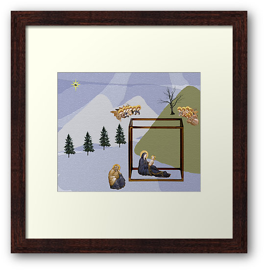 Culturedarm Cover Winter 16-17 Small Framed Print
