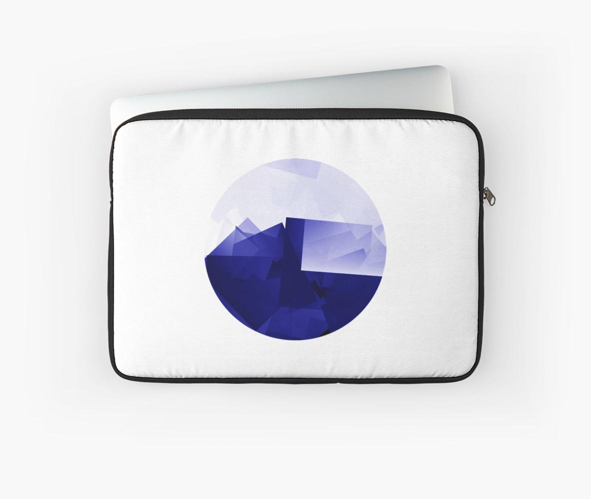 Culturedarm Logo Ultramarine Laptop Sleeve