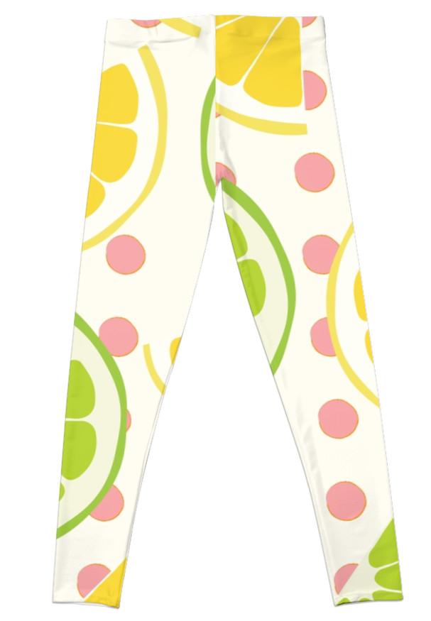 Culturedarm Lemons Limes Leggings