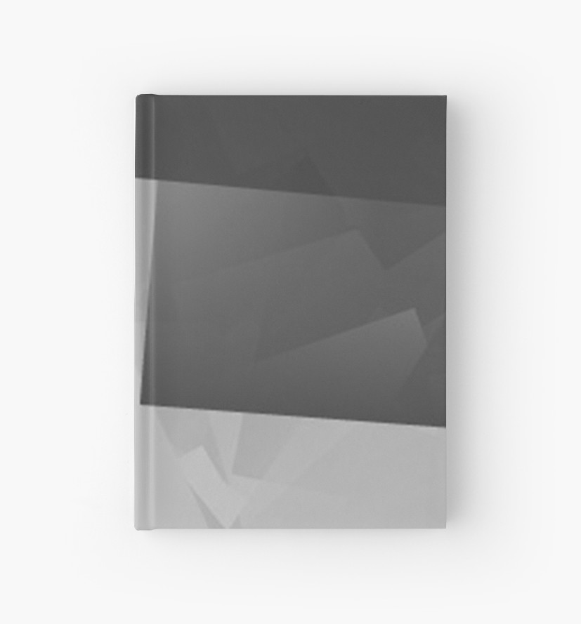 Culturedarm Logo Monochrome Invert Hardcover Journal