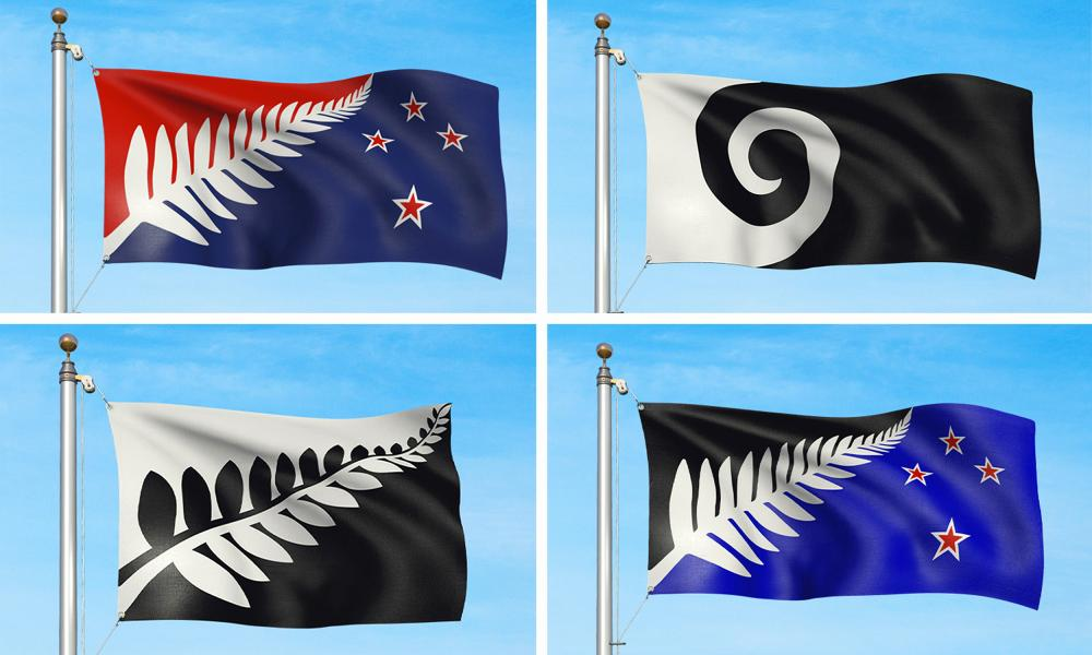 New Zealand Flag Options