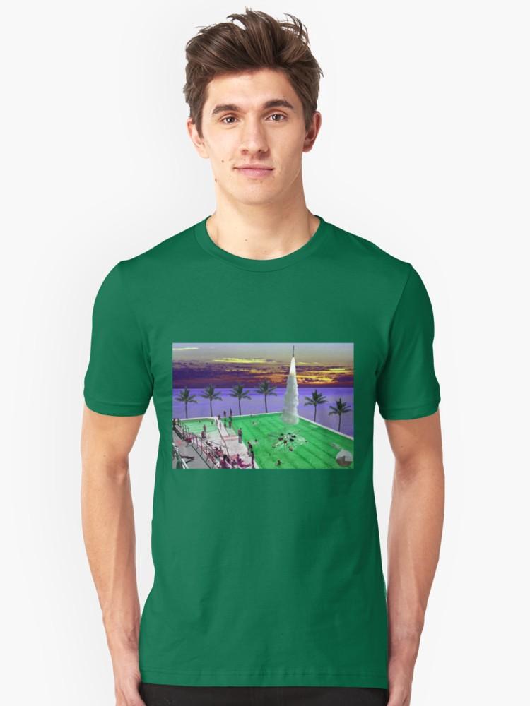 Culturedarm Synchronised Swimming Green Unisex T-Shirt
