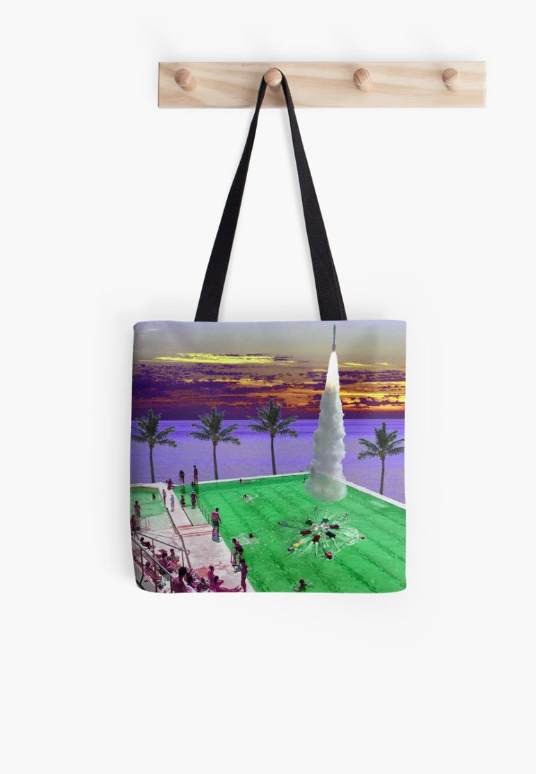 Culturedarm Synchronised Swimming Tote Bag