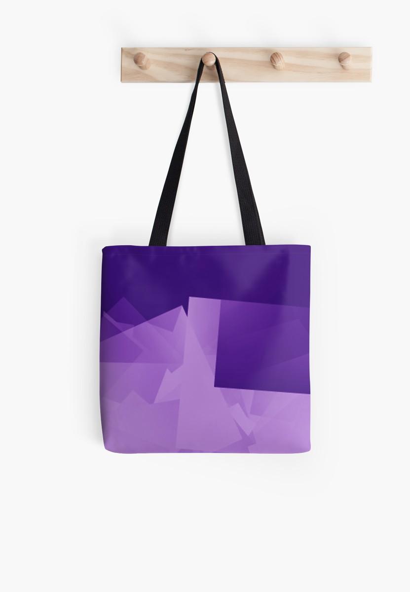 Culturedarm Logo Indigo Violet Tote Bag