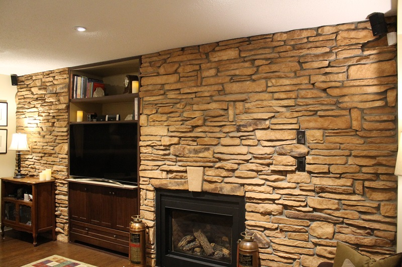 Cultured Stone Accent Wall  The Cultured Stoners