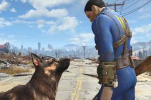 Fallout 4 Dog and Man
