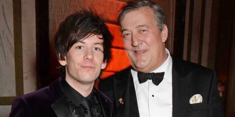 Stephen Fry with his husband
