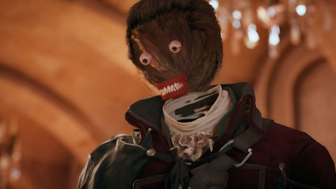 AC Unity face glitch