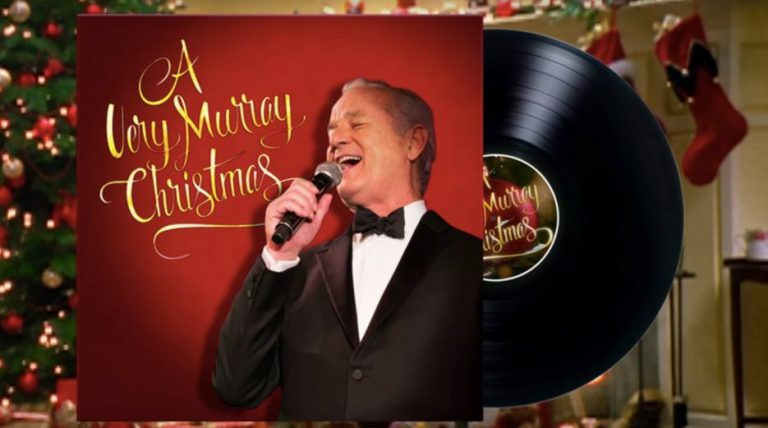 Murray Christmas.New A Very Murray Christmas Trailer Released