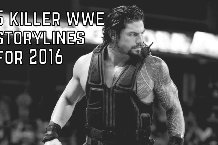 WWE storylines 2016