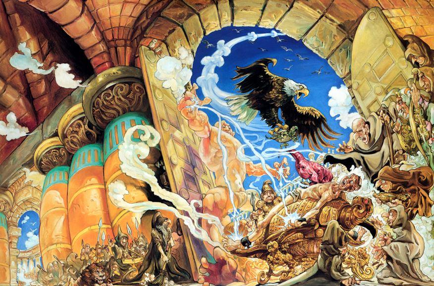 Small Gods Discworld