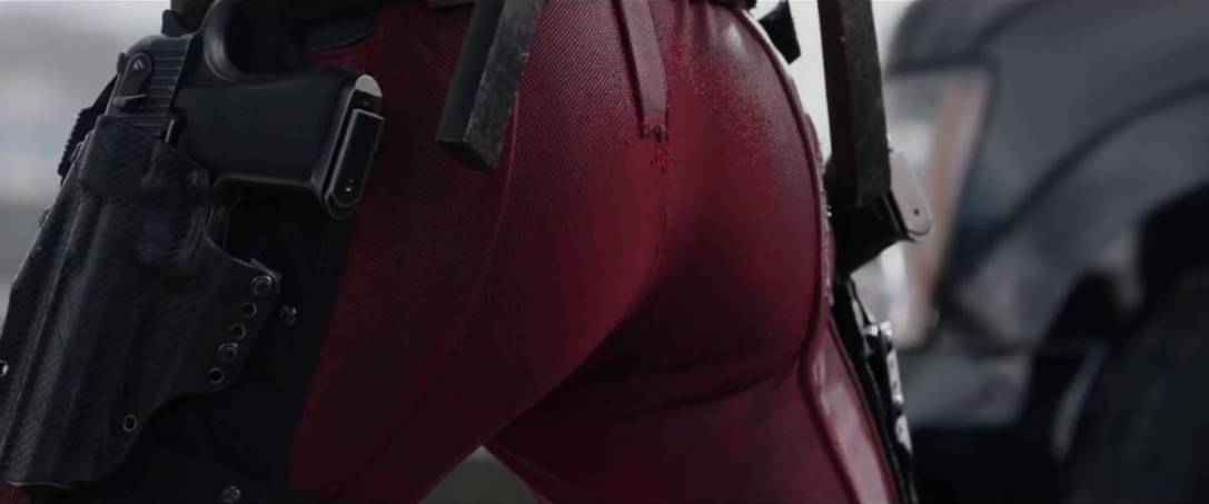 deadpool ass