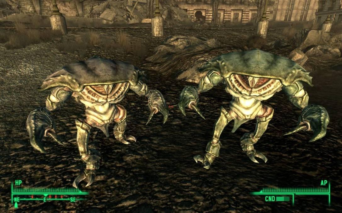 Mirelurks Fallout 4