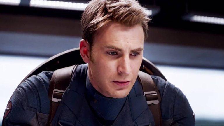 Steve Rogers, looking sad