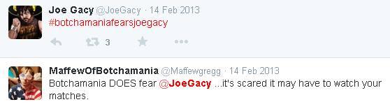 Botchamania Joe Gacy