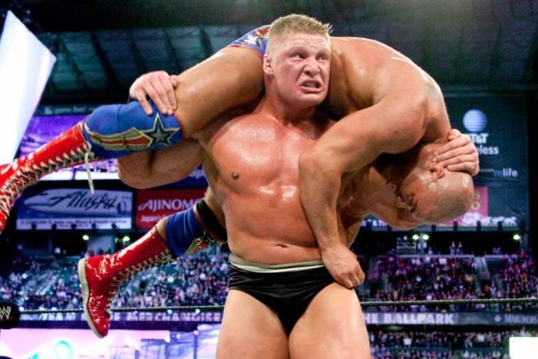 Brock Lesnar f5
