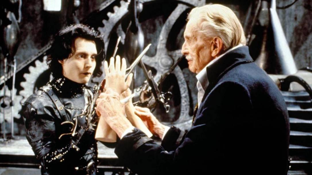 Edward Scissorhands Vincent Price
