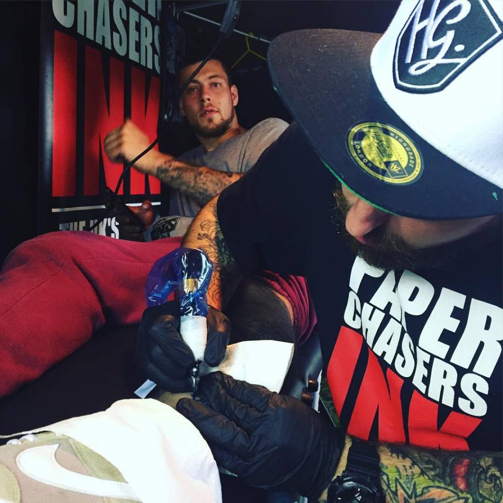 The Paperchasers Ink stall (via Instagram)