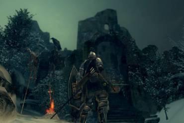 Dark Souls snow