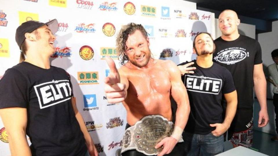 Kenny Omega and the Young Bucks