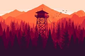 Firewatch The Best Walking Simulators