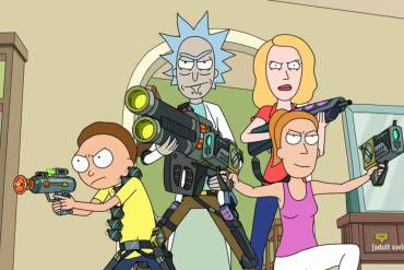 Rick, Morty, Beth and Summer