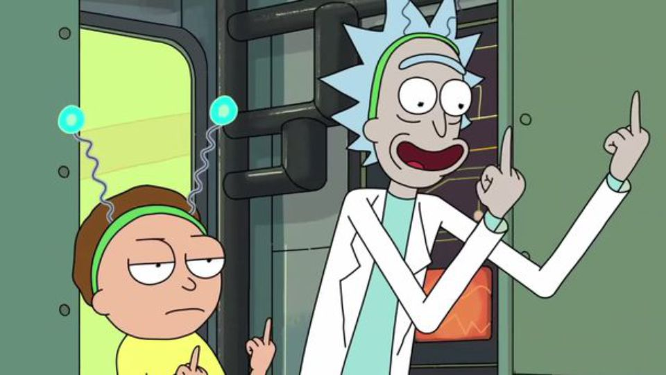 Rick Sancez and Morty Smith from Rick and Morty