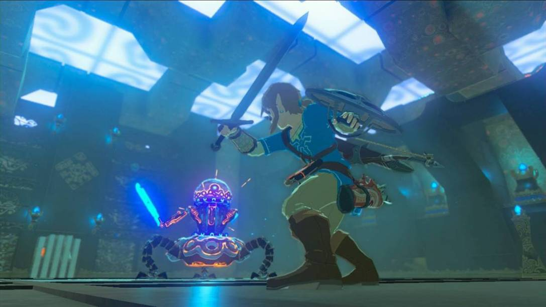 the legend of zelda breath of the wild guardian2