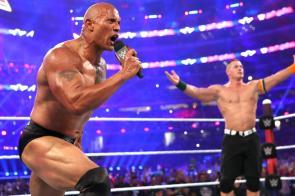 the rock john cena wrestlemania 32