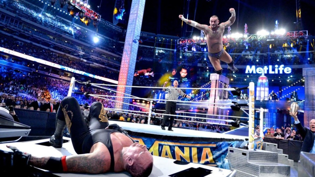 Undertaker and CM Punk