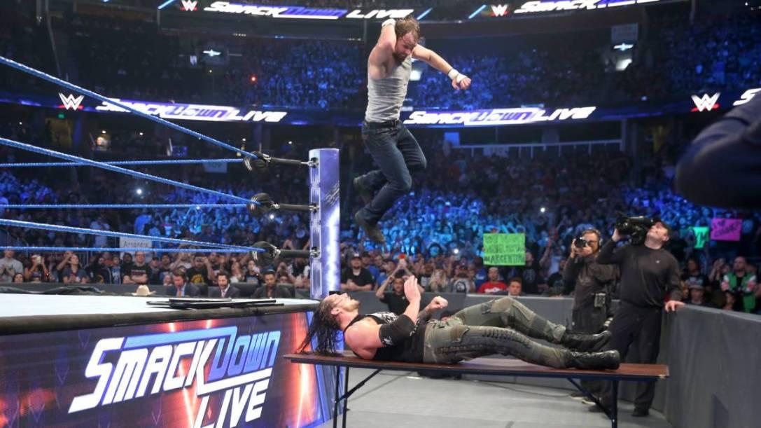Dean Ambrose and Baron Corbin