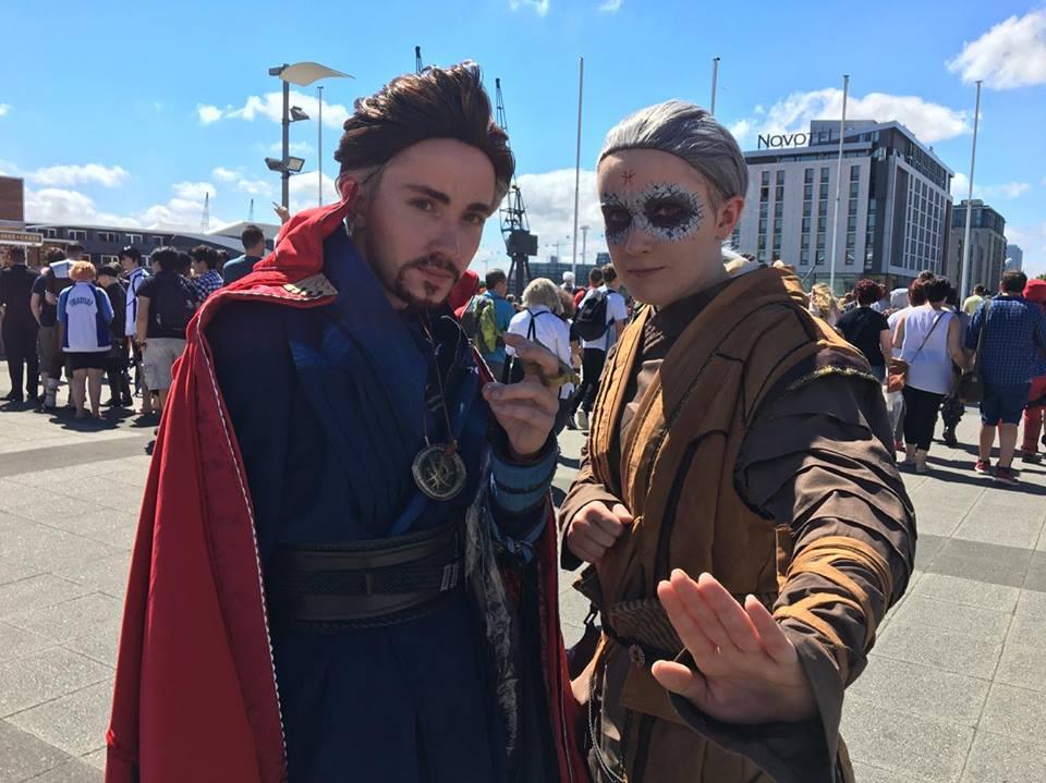 Doctor Strange cosplayers at MCM 2017
