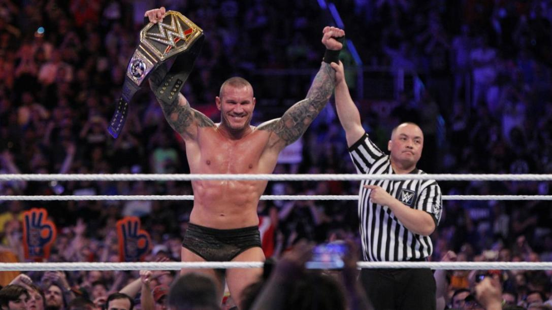 Randy Orton WWE champion