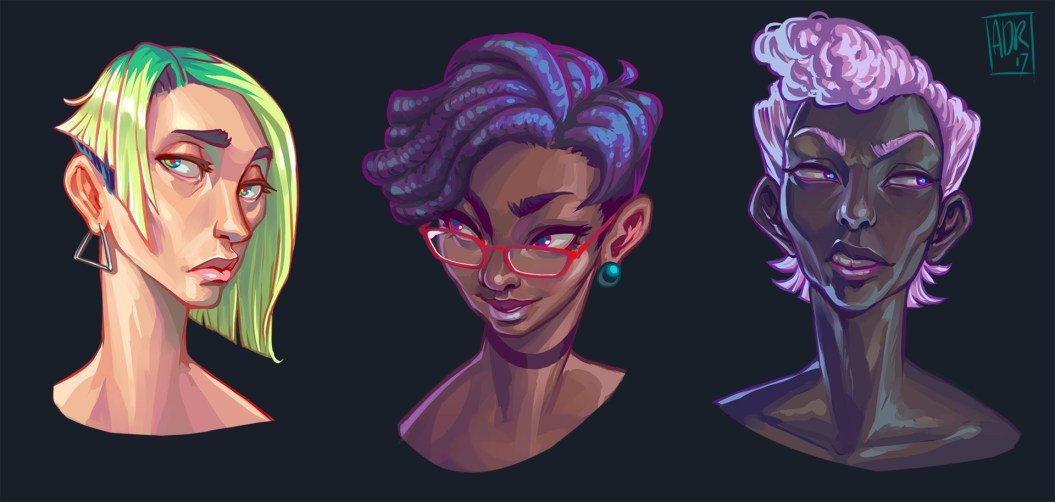 Portraits by Ridder