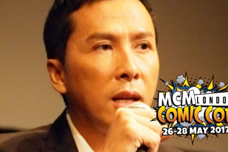 Donnie Yen and MCM logo