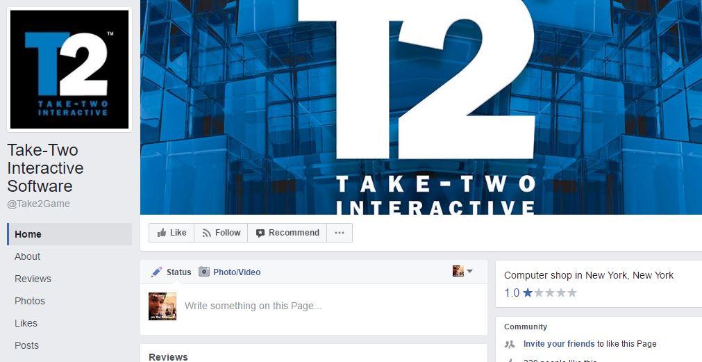 Take-Two publisher